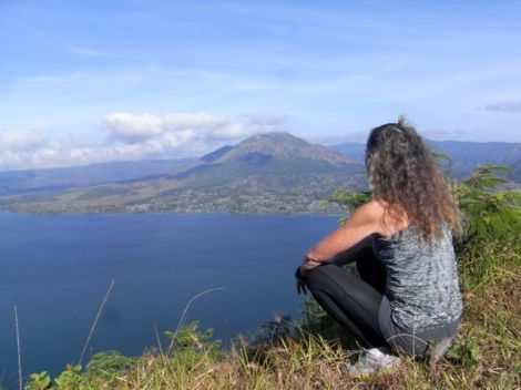 "taking a moment to realise how lucky I am to be able to do our ""Beyond Bali"" trek."