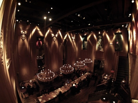 NYC hotspot - Buddakan... one for Sex in the City followers
