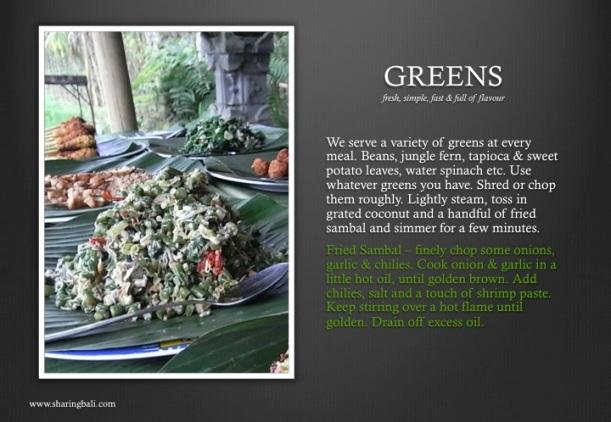 17. greens