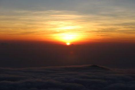 sunrise batur