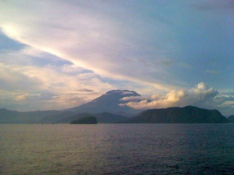 Mt Agung, the mother mountain in Bali is my anchor.