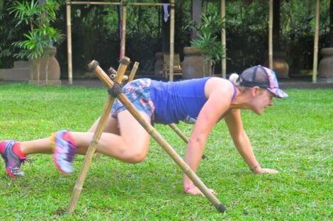 mel hurdles low
